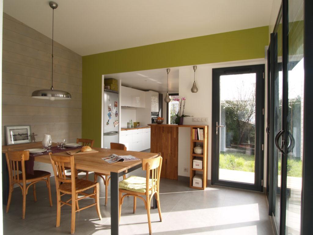 Souvent Extension bois cuisine-salle à manger, Nantes - Habiter Bois GV61