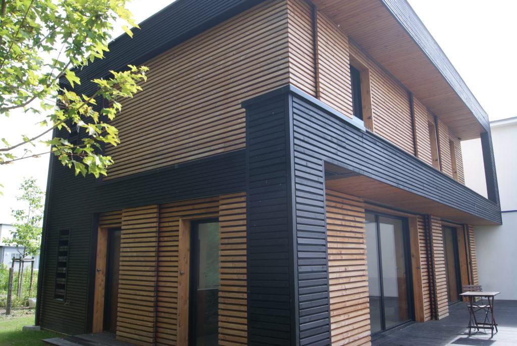 Eurl safran charpente briodeau charpentier fabricant de maisons ossature bois habiter bois for Fabricant maison bois