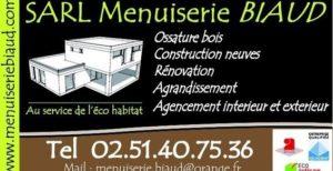 Logo SARL Menuiserie Biaud